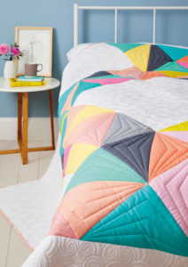 Sorbet Shades Quilt as pictured in Love Patchwork and Quilting, Issue 54