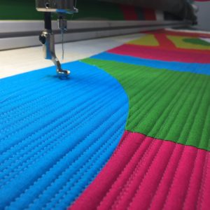 Quilting spacing