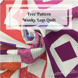 Wonky Logs Quilt Pattern