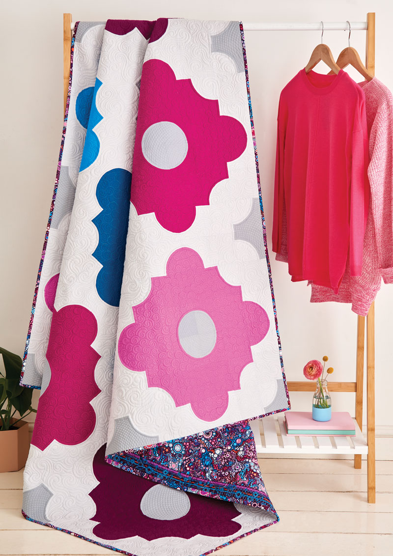 LPQ Issue 63 Moroccan Tiles Quilt