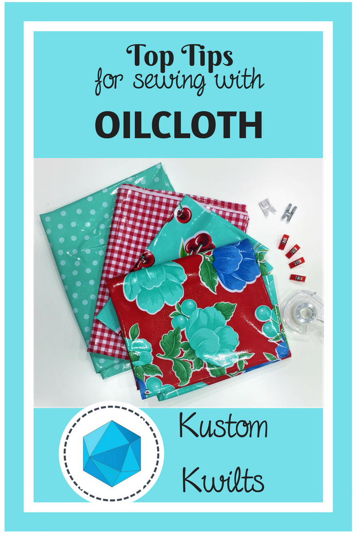 Top Tips for Sewing with Oilcloth
