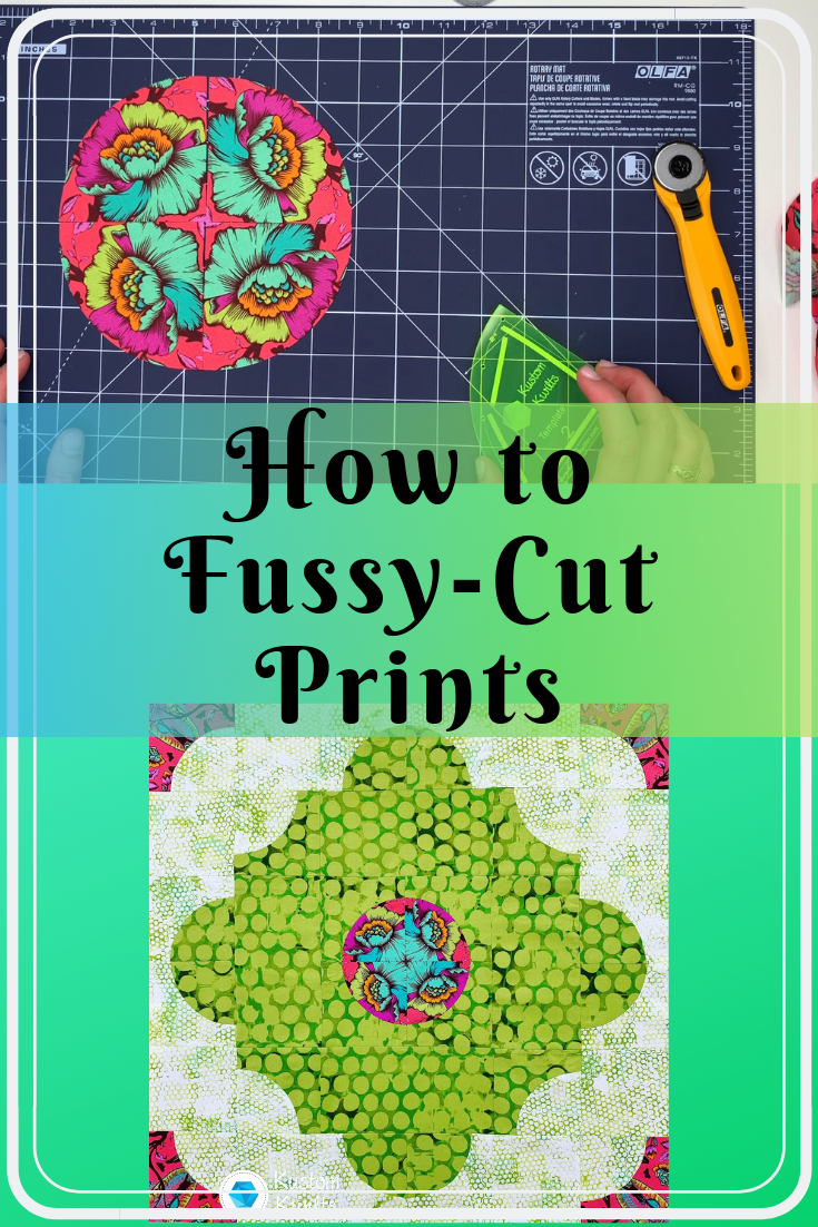 fussy cutting prints