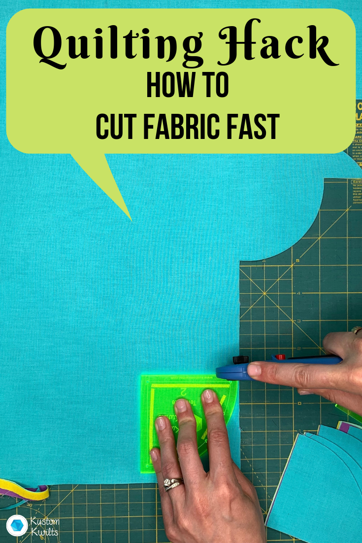 time saving quilting hack