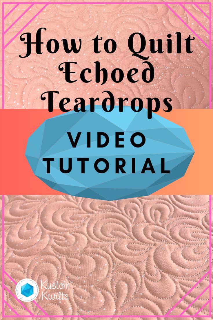 echoed teardrops