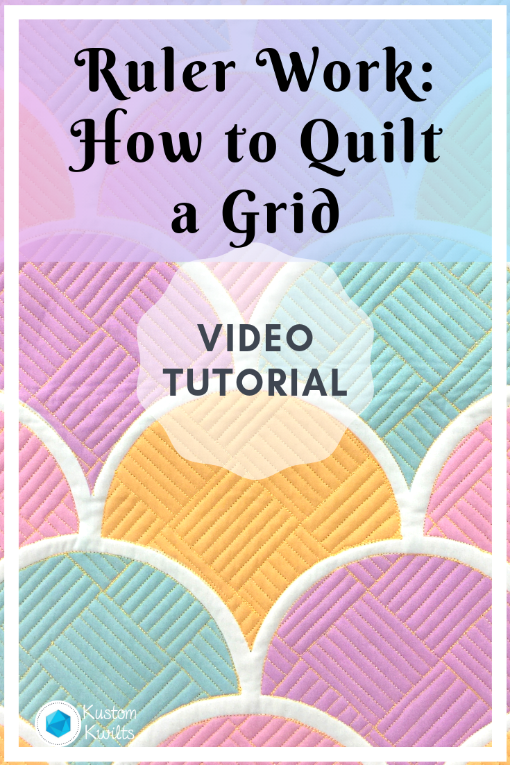 how to quilt a grid