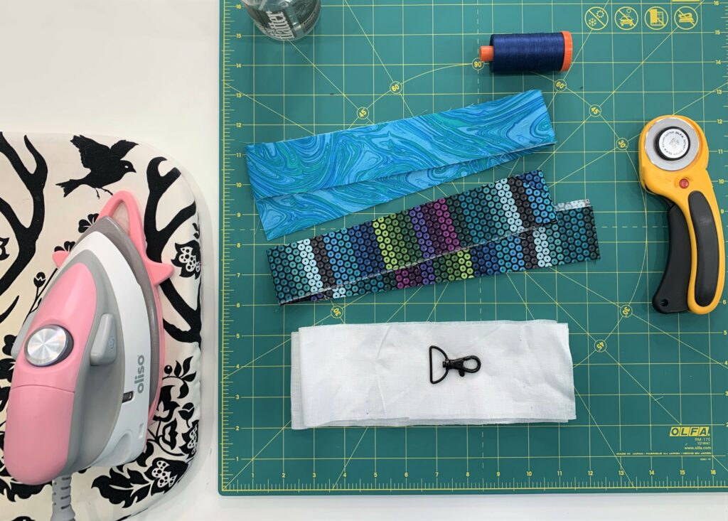 Reversible Lanyard Tutorial Supplies