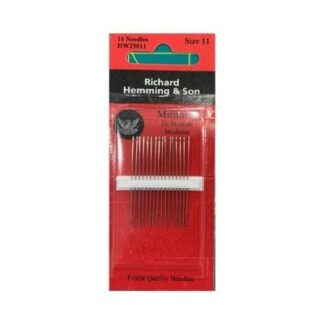 size 11 milliners needles