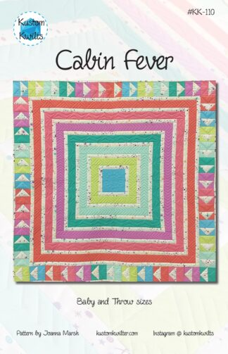 Cover of cabin fever paper pattern