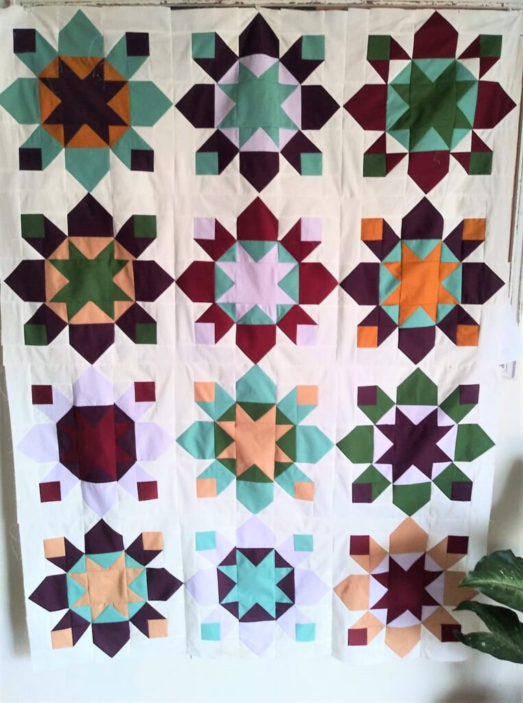 solid quilt