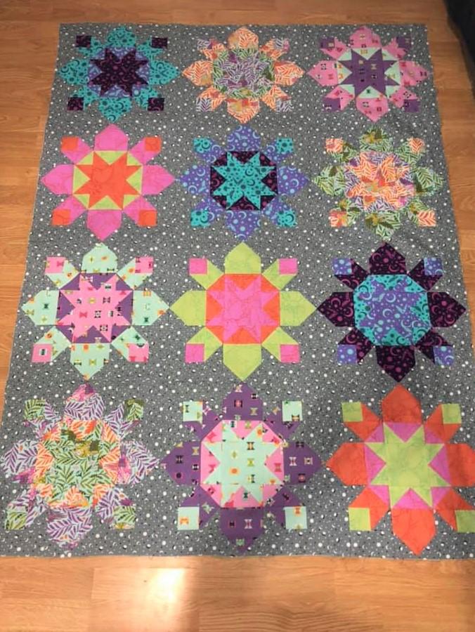 Tula kapow! quilt pattern