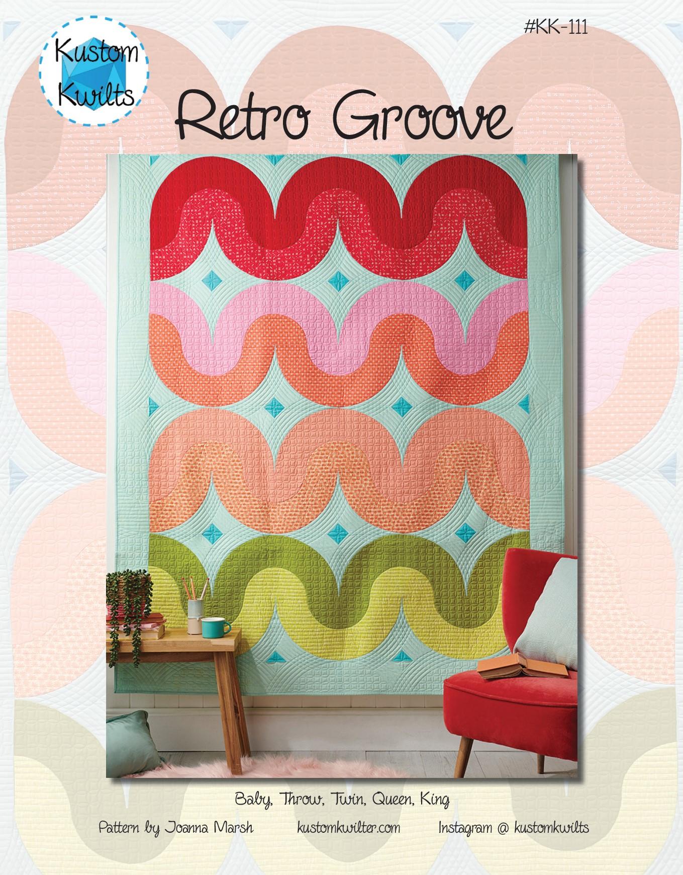 retro groove quilt