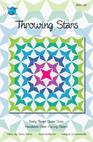 throwing stars quilt